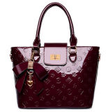Madame Shinny Letaher Handbag