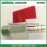 Válvula de bola de latón cromado mini válvula de bola / Pequeño (AV-MI-2007)