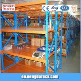 Shelving médio do armazém do racking do dever para equipamentos do armazenamento
