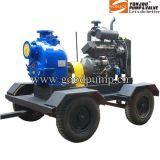 Zw 디젤 엔진 수평한 원심 하수 오물 펌프