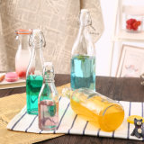 1000ml는 신선한 유리제 단지 또는 기름 단지 또는 우유 단지 또는 주스 단지를 정리한다
