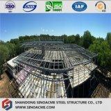 De Commerciële Bouw van het Frame van het staal met MultiVloer