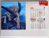 2015 neues Custom 3D Calendar Design