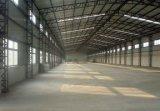 Entrepôt léger préfabriqué/atelier/usine de structure métallique
