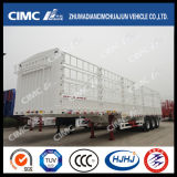 3axle Cimc Cargo Semi Trailer met Side Stake (EXPORT TYPE)