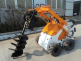 Attachmentsの小型Skid Steer Loader