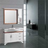 Nieuwe Vloer die het Houten Kabinet van de Badkamers met ZijKabinet bevinden zich