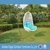 Outdoor Leisure Modern Swing Chair Fabricado por PE Rattan Wicker