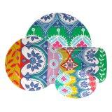 Het ceramische het Imiteren Vastgestelde Vaatwerk Cadeaux van de Plaat van de Salade van de Melamine