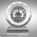Reloj cristalino del vector de lujo para la decoración casera M-5004