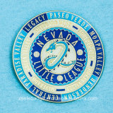 Enamel morbido Metal Badge con Epoxy Dome (Ele-B152)