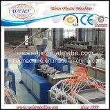Línea externa de la protuberancia del panel de pared del PVC de la eficacia alta