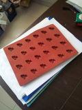 Molde plástico personalizado molde do molde do chocolate do molde dos doces de Sillcon