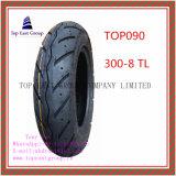Superqualität, schlauchlose, lange Lebensdauer-Motorrad-Reifen mit 300-10tl, 300-8tl