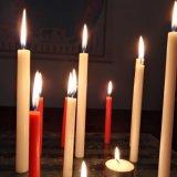 De Witte die Kaarsen van de Kaars van het huis in China worden gemaakt