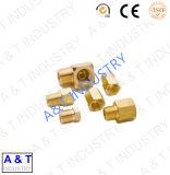 Angepasst, CNC-Messing/Edelstahl-/Aluminiumdrehbank-maschinell bearbeitenteile, CNC-Drehbank-Ersatzteile mit Zeichnung
