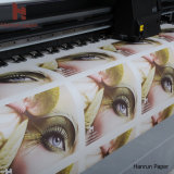 бумага печатание бумаги переноса сублимации 90GSM 100GSM классическая на тканье 1.6m полиэфира