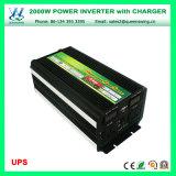 Микро- инвертор силы автомобиля UPS 2000W с цифровой индикацией (QW-M2000UPS)