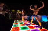 Guangzhou New Decor Luminar Liquid RGB 3in1 Full Colors Dance Floor para plataforma de palco, Portable LED Color Change Liquid Floors