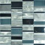 De Mengeling van het Mozaïek van het glas en van het Metaal voor Badkamers