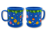 높은 Quality Plastic Cup Promotional 3D ABS Coffee Mug (012)