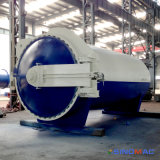Ce van 2500X5000mm keurde het Volledige Vulcaniseerapparaat van de Rollen van de Automatisering Rubber (goed Sn-LHGR25)