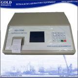 Instrumentos de Anlyzers do índice de enxôfre do óleo de petróleo do equipamento de laboratório Gd-17040