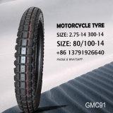 Pneu de moto/pneu et tube (chambre à air en caoutchouc de butyl&) pneu 2.75-14 3.00-14 80/100-14