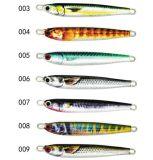 Les poissons modèlent estampé sur l'attrait réaliste réaliste de pêche de gabarit de fil