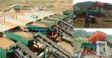Impianto minerario del piccolo stagno alluvionale completo, stagno alluvionale di prezzi bassi che separa pianta per il concentrato dello stagno