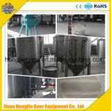Strumentazione commerciale della fabbrica di birra della birra, micro strumentazioni della fabbrica di birra di progetto della birra del sistema di chiave in mano della fabbrica di birra con il fermentatore di raffreddamento da vendere