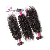 Волос Remy сразу цены фабрики Weave дешевых индийских курчавый