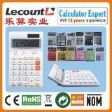 12 dígitos Dual Power Desktop Calculator con Adjustable LCD Screen con Decimal y Rounding Selection y con Optional Tax Function LC227