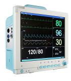 Video paziente ECG, NIBP, SpO2, Temp, Ce facoltativo di Multi-Parameter di 15 pollici del CCU-Maggie Ysd18d dell'ospedale ICU della stampante di Resp approvato