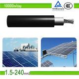 Cable solar solar aprobado de la C.C. del TUV PV1f picovoltio (1X25mm2)
