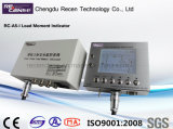 Indicateur RC-A5-I de capteur de pression de piézoélectrique de grue à tour