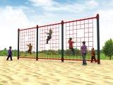 Оборудования спортивной площадки пригодности занятности парка гимнастики сеть напольного взбираясь