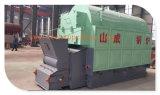 Chaudière à vapeur industrielle de gas-oil de biomasse de charbon d'essence 500kg-20ton