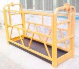 Plataforma de levantamento do material de construção do edifício