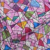Couro sintético do plutônio do projeto colorido da forma para o saco das mulheres
