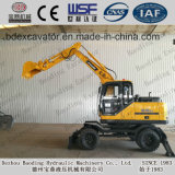 Máquina de construção chinesa Máquina de escavadeira de roda 0.3m3 para venda