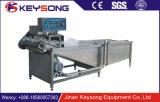 Máquina de lavar industrial eficaz elevada do vegetal de fruta da bolha