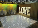 白いLEDのスターライトの結婚式の段階の装飾のためのきらめくダンス・フロア