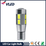 Multicolor LED Bulb T10 W5w 5630 Super Canbus LED Carro Light