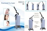 New Medical CO2 Fractional Laser Beauty Equipment Scar Removal