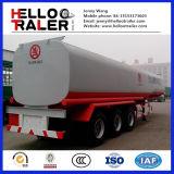 Beste Verkoop 3 de Aanhangwagen van de Tankwagen van de Brandstof van het Roestvrij staal van Axel 45000liter