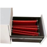 Положите шкаф для картотеки черни офисной мебели скоросшивателя A4/F4