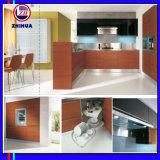 木パターン紫外線高い光沢のある食器棚(ZH045)