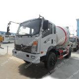Camion de faible puissance de mélangeur concret de Sinotruk 4X2