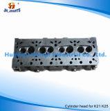 Motor-Zylinderkopf für Nissans K21 K25 11040-Fy501